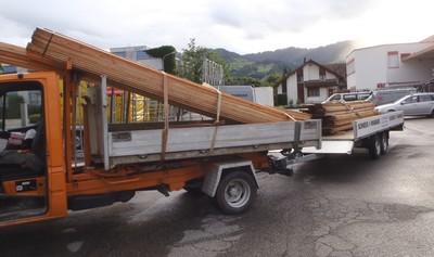 Transport nach Wildhaus