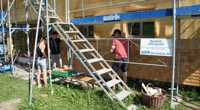 clubheim 20120630 schindeln 002